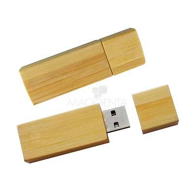 Maggenta  Produtos Promocionais - Pen drive corpo de bambu