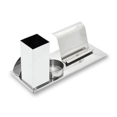 maggenta-produtos-promocionais - Porta Caneta com Porta Cartão Personalizado 1