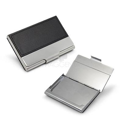 maggenta-produtos-promocionais - Porta cartão customizado em couro sintético.