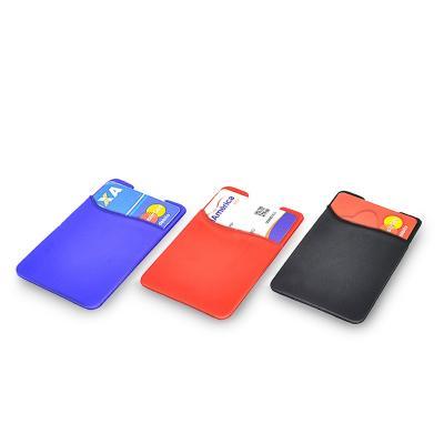 Porta Cartão Silicone para Celular 1 - Maggenta  Produtos Promocionai...