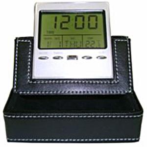 Maggenta  Produtos Promocionais - Relógio digital com porta cartão de visita.
