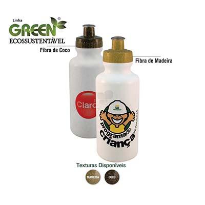 Maggenta  Produtos Promocionai... - Squeeze personalizado com tampa rosqueável, linha ecossustentável em plástico resistente. Capacidade 550 ml.