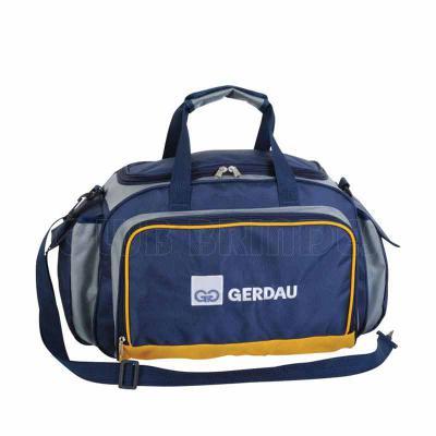 Bolsa de Viagem com bolsos laterais, alça de mão e alça de ombro regulável. Disponível em várias ...