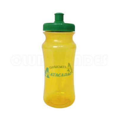 Squeeze Pet Ecológico com capacidade para 620 ml. Disponível em várias cores. Gravação da logomar...
