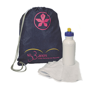 Club Brindes - Kit Fitness personalizado