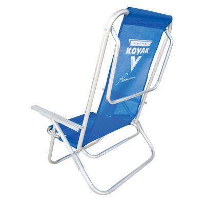 Cadeira de Praia modelo Preguiçosa confeccionada em tubo de alumínio. Disponível em várias cores. Gravação da logomarca em 1 cor já incluso.  Materiai... - Club Brindes
