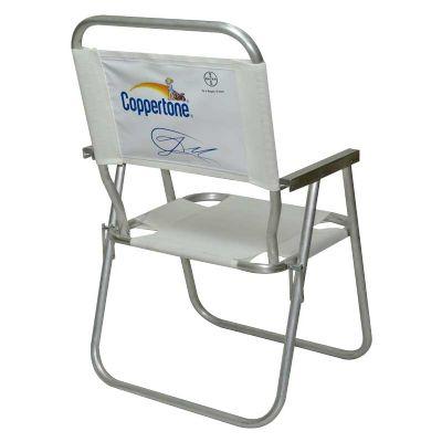 Cadeira alta alumínio - Club Brindes
