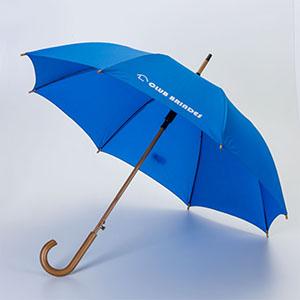 Club Brindes - Guarda-chuva cabo de madeira, automático, 120 cm