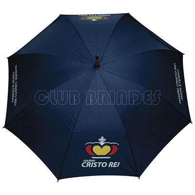 Club Brindes - Guarda Chuva Colonial, 120 cm, disponível em várias cores