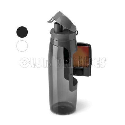 club-brindes - Squeeze Plástico 800ml com Porta Cartão