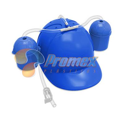 Promex - Boné com copo e canudo feito de plástico