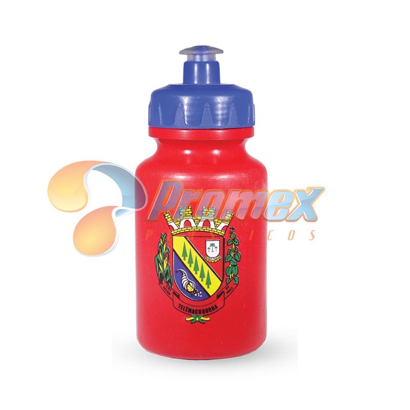 Promex - Squeeze personalizado 250ml - Corpo em PEAD/PEBD flexível, com tampa PP e Bico em PVC atóxico, composto por materia-prima Virgem. Diversas cores de co...