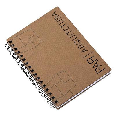 Caderno em cartão. Personalizado Formato 16x23 cm.