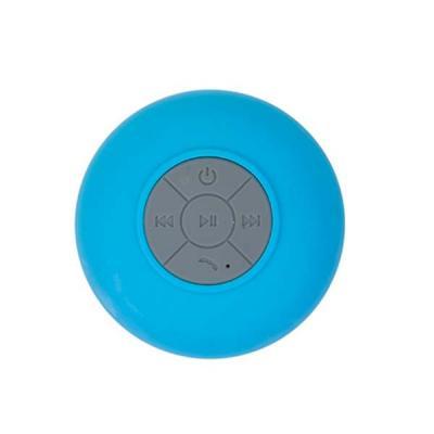Caixa de Som Multimídia à prova D'Água emborrachada com ventosa(pode ser removida). Versão do blu...