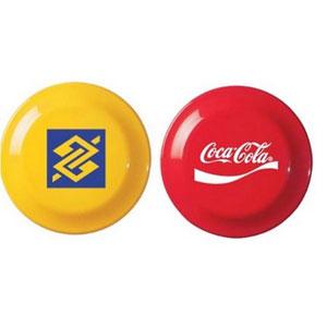 Freesbee personalizado. - Finaú Brindes Promocionais