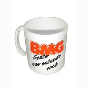 Finaú Brindes Promocionais - Caneca personalizada para café - Capacidade de 400 ml.