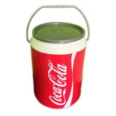 - Cooler para 12 latas, fabricado em polipropileno de alta densidade com isopor prensado, material isotérmico, com alça de mão, modelo lata, medida 36 x...
