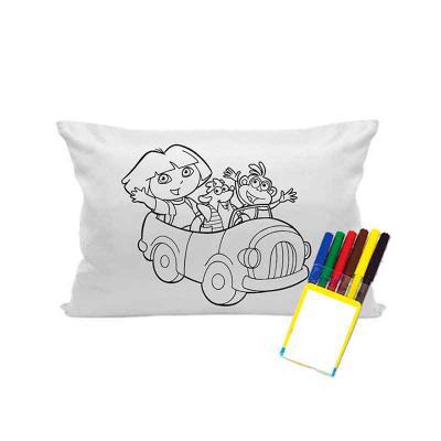 Finaú Brindes Promocionais - Kit almofada para colorir personalizada