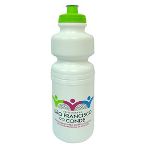 Finaú Brindes Promocionais - Squeeze personalizada - Capacidade para 750 ml.