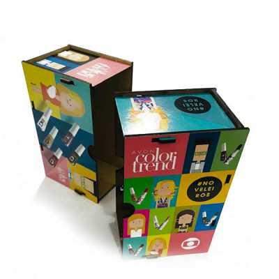 Caixas de MDF personalizadas no formato e na impressão, para entregar o seu brinde e destacar a sua marca. - Printas