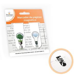 Printas - Marcador de páginas magnético.