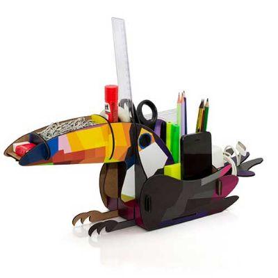 Printas - Basqui Office - Organizador para itens da mesa de trabalho e estudo