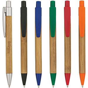 Unixbrindes - Caneta ecol�gica em bambu, cores variadas