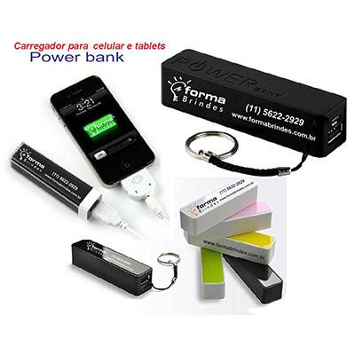 Unixbrindes - Carregador de celular, Smart Phone e Tablets