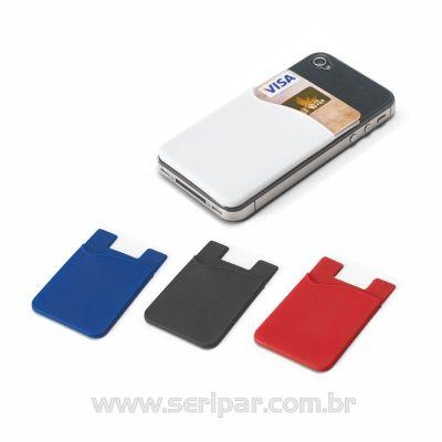 Seripar - Brindes Inovadores - Porta cartões para Smartphone
