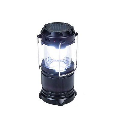 Brindes NH - Lanterna de led recarregável, plástico resistente com relevo na peça e alças de metal. Possui 6 leds levantando compartimento superior para utilizar l...