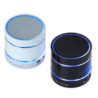 Gopal Arte em Papel - Caixa de som Bluetooth portátil com LED brilhante