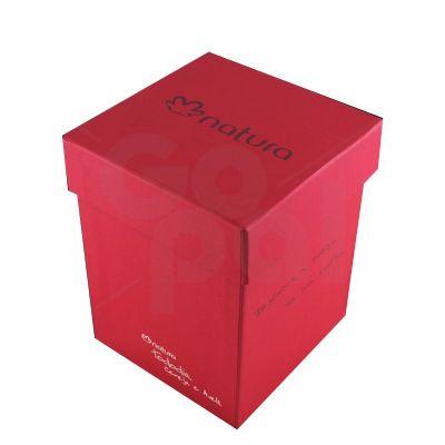 Caixa de papelão rígido cartonada - Craft House Brasil