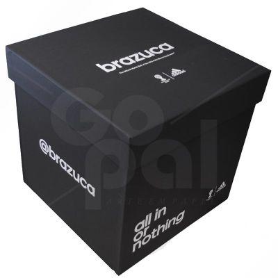 Caixa de papelão rígido, cartonada com impressão em silk. - Craft House Brasil