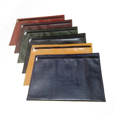 gopal-arte-em-papel - Pasta envelope confeccionada de couro legítimo