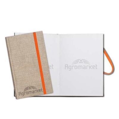 bloco de anotação   folha  branca  com logo