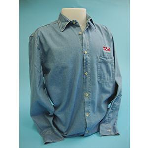 Layout Brindes - Camisa jeans