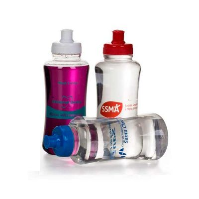 Layout Brindes - Squeeze pet 500 ml
