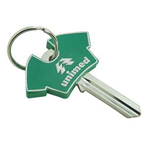 Enfeite para chaves emborrachado