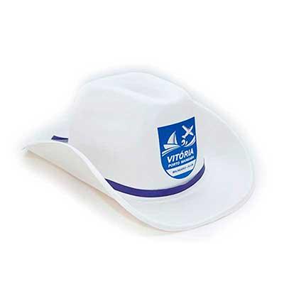 - Chapéu Personalizado country em E.V.A branco