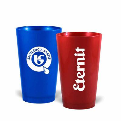 Copo Cancun personalizado  Material: pp-pe  Medidas: 320ml  Sua marca aplicada em: serigrafia  Produção minima: 100 unidades - Nexo Brindes