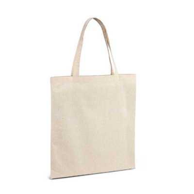 ecco-brindes - Sacola 100% Algodão Ecológica Personalizada  100% algodão: 140 g/m². Alças de 60 cm. 375 x 415 mm  SUA MARCA APLICADA EM: Serigrafia