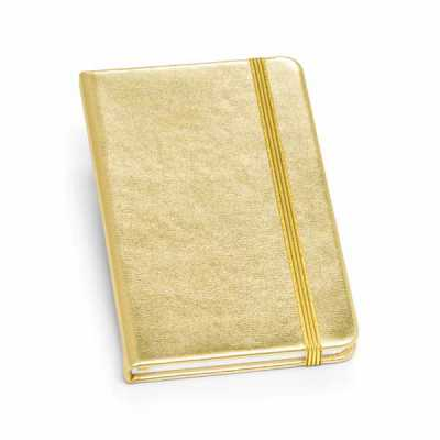 Nexo Brindes - Caderno Personalizado Capa dura. C. sintético. Com 80 folhas não pautadas. 90 x 140 mm  SUA MARCA APLICADA EM: SERIGRAFIA
