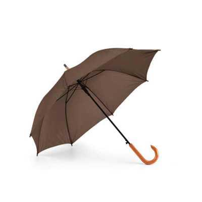 nexo-brindes - Guarda-chuva. Poliéster 190T. Pega em madeira. Abertura automática. ø1040 mm | 885 mm