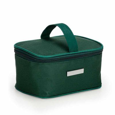 Nexo Brindes - Bolsa Térmica Personalizada     Descrição: Bolsa térmica 2,6 litros em nylon com alça para mão, parte interna com revestimento térmico e acompanha pla...