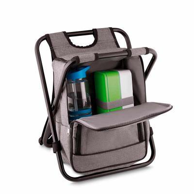Bolsa Térmica Cadeira Personalizada  Bolsa térmica 25 litros com conversão em cadeira. Bolsa confeccionada em nylon, possui compartimento principal té... - Nexo Brindes