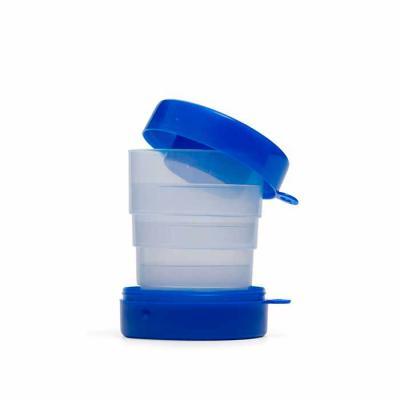 Nexo Brindes - Copo retrátil personalizado   Características do produto      Copo retrátil 200ml de plástico com tampa porta comprimido e base colorida. Basta puxar...