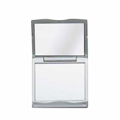 Espelho Duplo com Aumento Personalizado - Nexo Brindes