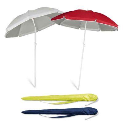 - Guarda sol personalizado é idealpara uso no verão, com excelente visibilidade.    Características do produto  Material: 210T.  Fornecido em bolsa. ø1...