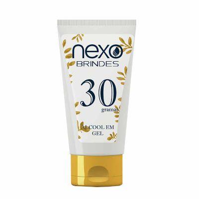 - Álcool Gel Higienizante Personalizado - Com Hidratante e Aloe Vera à base de álcool etílico 70%, proporciona uma eficaz limpeza das mãos. Exclusiva op...