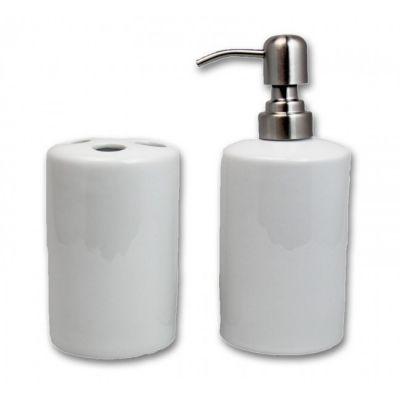 Nexo Brindes - Jogo de porcelana banho